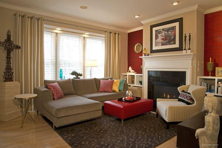 Eclectic Mid Century Modern Living Room living room. Dan Davis Design, LLC Dan Davis - Ferndale MI