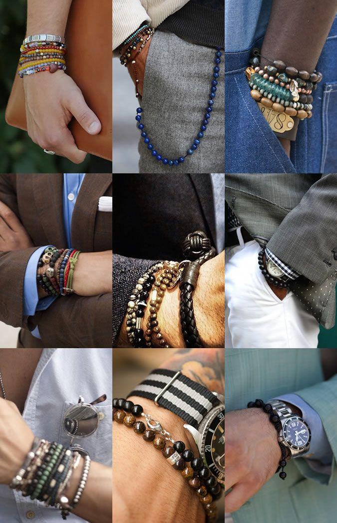 Bracelet Pour Mode HommesHomme PerleFashion De Styles Et m0v8nNw
