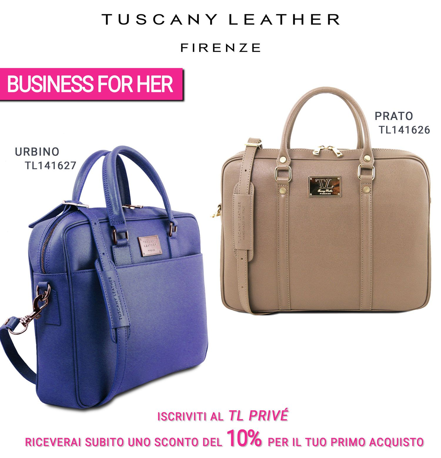 Join TL PRIVÉ. You will receive a 10% discount on your first purchase.