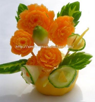 tips for vegetable carving
