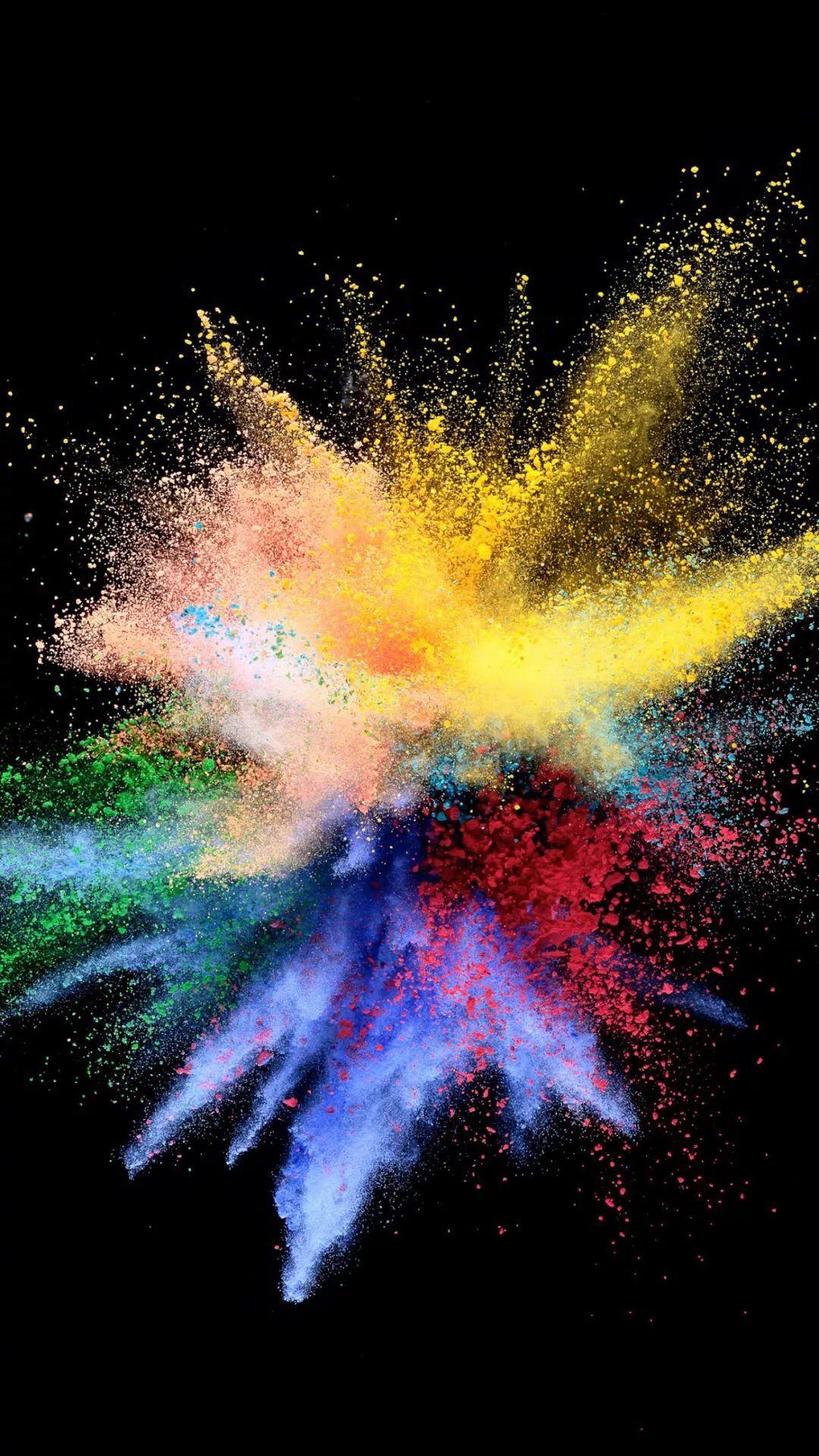 Color Burst Bright Colors Explosion Imagination Https Imaginationrevelation Com Art Wallpaper Iphone Cellphone Wallpaper Live Wallpaper Iphone