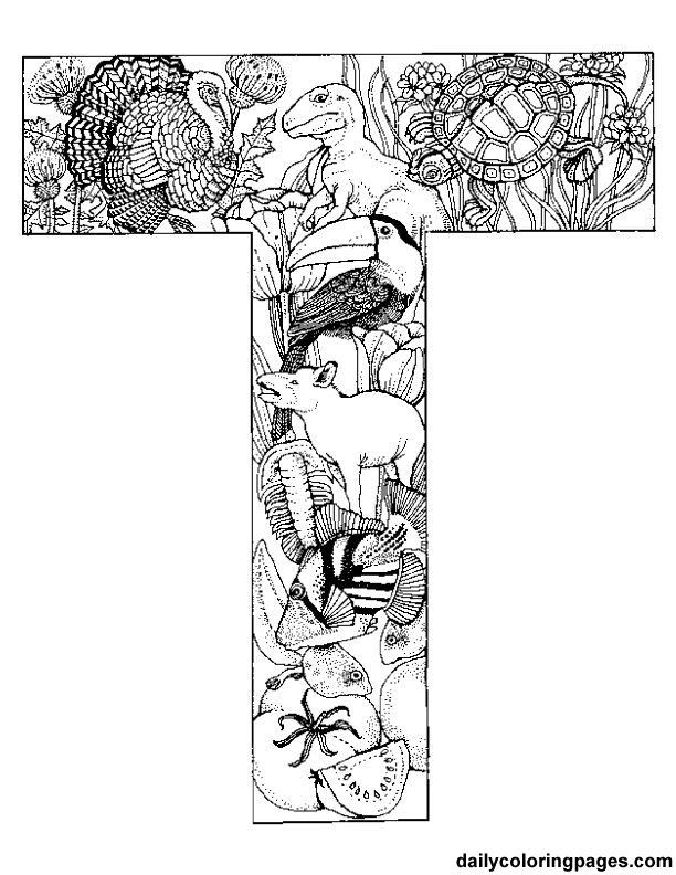 Alphabet Soup Coloring Pages : Printables on pinterest coloring pages adult