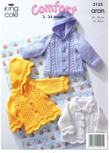 Knitting patterns baby pdf