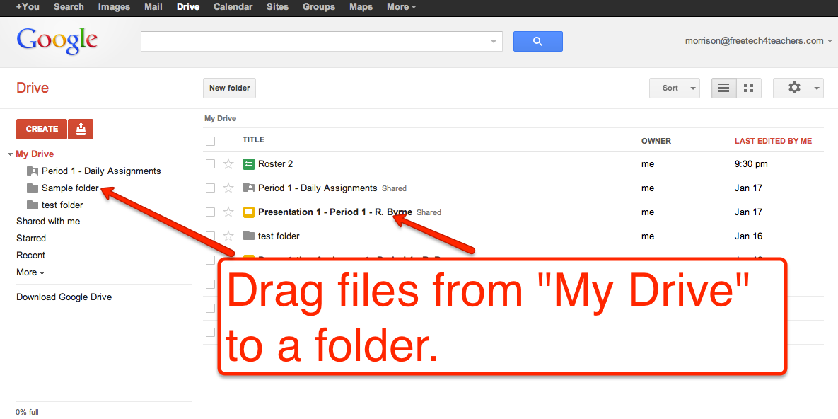 Five Essential Google Drive Skills For Teachers Google Drive Tech School Google Drive Tips