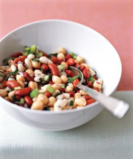 13 All Star Potluck Sides Bean Salad Recipes Bean Salad Three Bean Salad