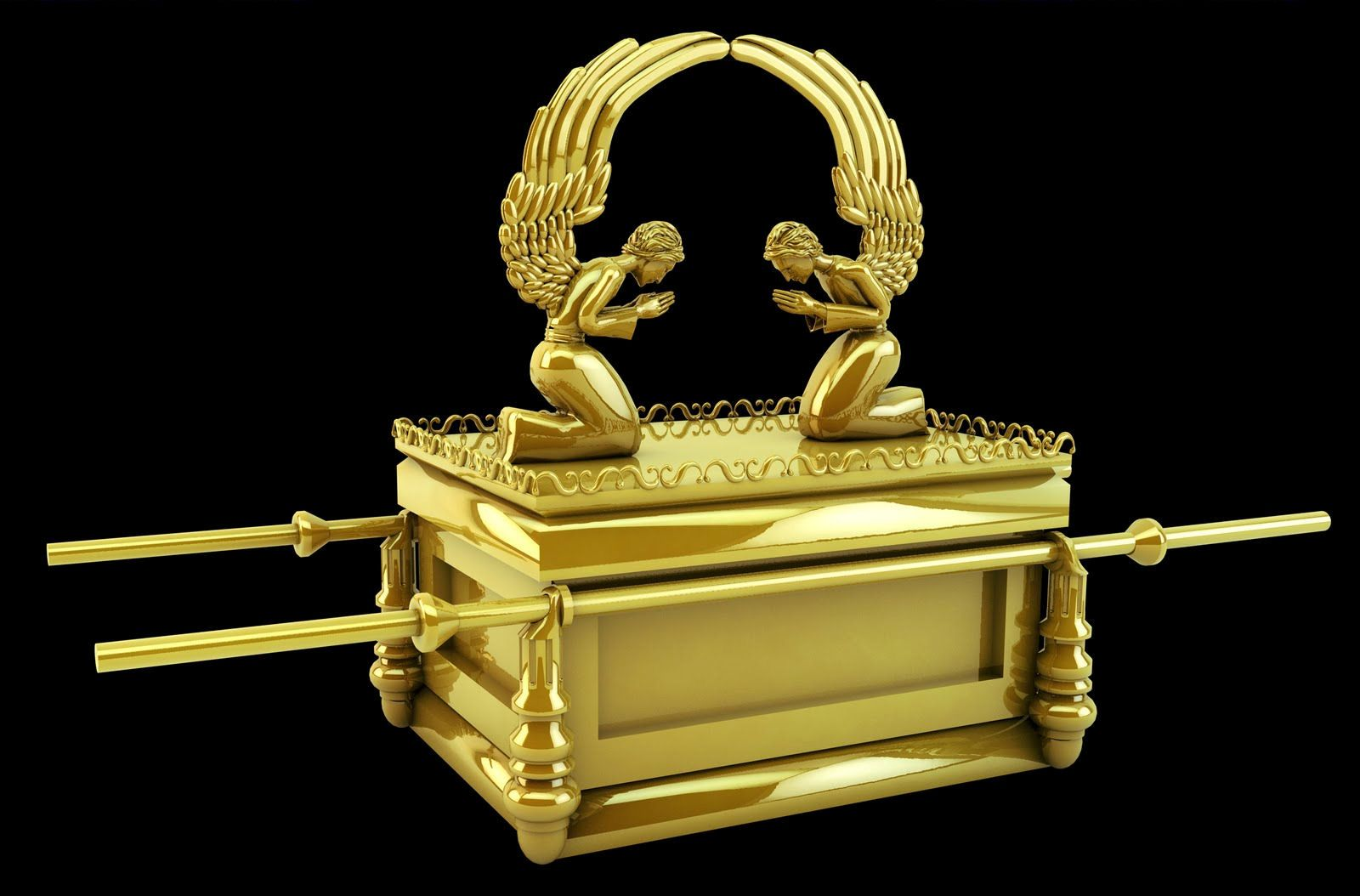 Ark Of The Covenant And Make Two Cherubim Out Of