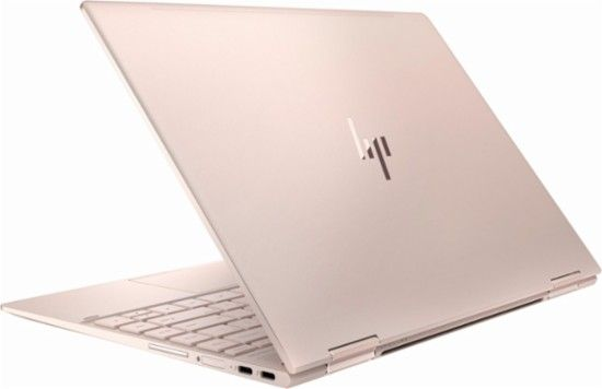 """Best Buy: Spectre x360 2-in-1 13.3"""" Touch-Screen Laptop Intel Core i7 16GB Memory 360GB Solid State Drive HP finish in pale rose gold 2LV01UA#ABA"""
