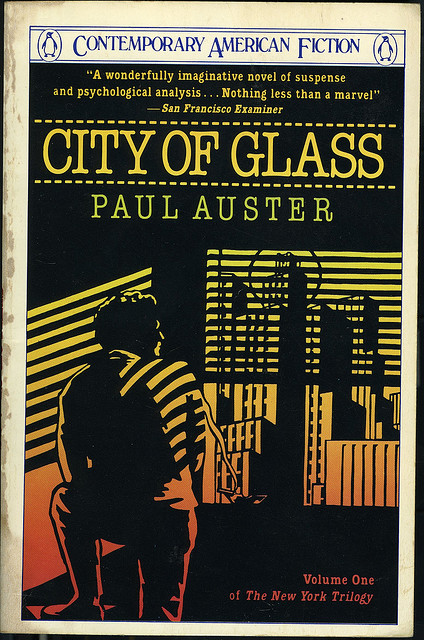 City Of Glass City Of Glass Paul Auster City