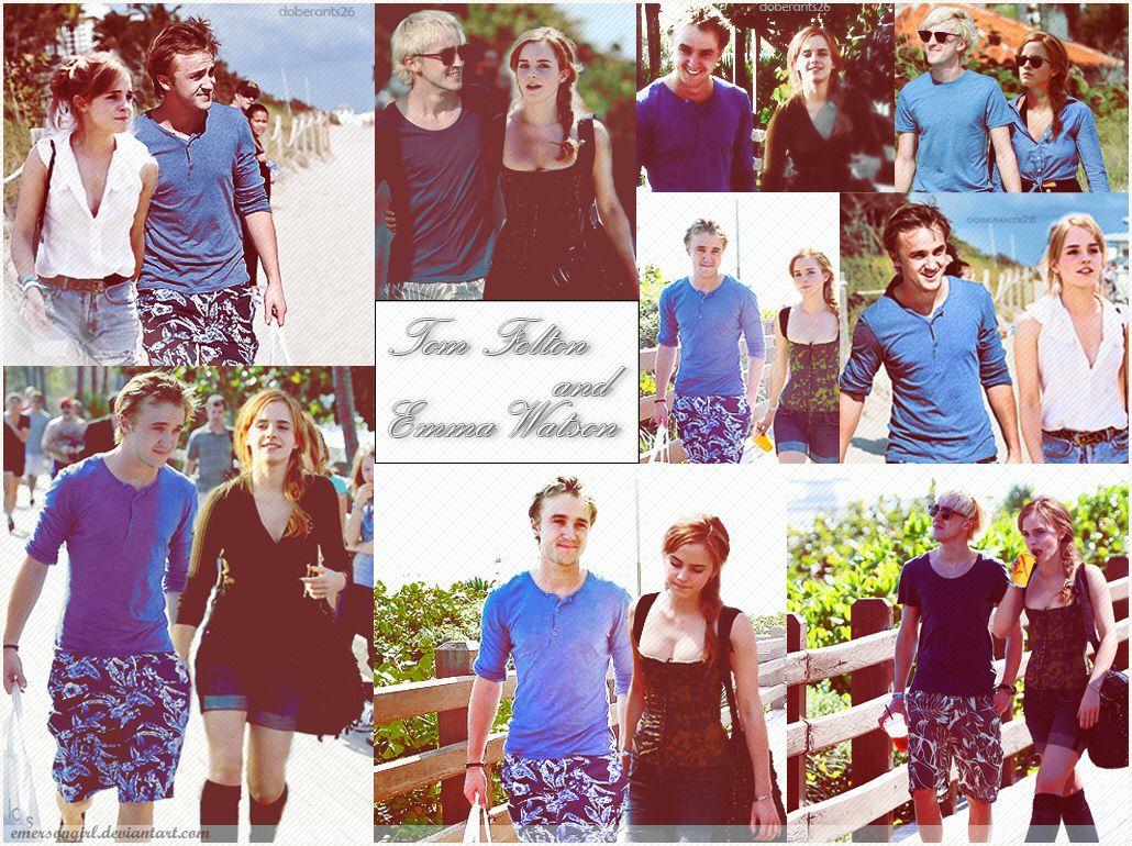 Tom Felton And Emma Watson 3