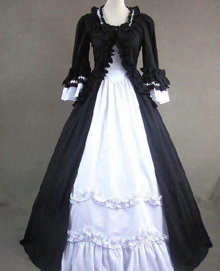 Discount Vintage Celtic Gothic Corset Wedding Dresses With: Rosalie`s Vintage Prom Gothic Retro Wedding Bridal Lolita