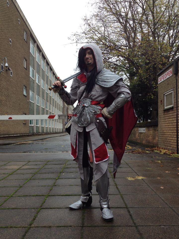 My Ezio Auditore, Assassin's Creed Brotherhood cosplay ...