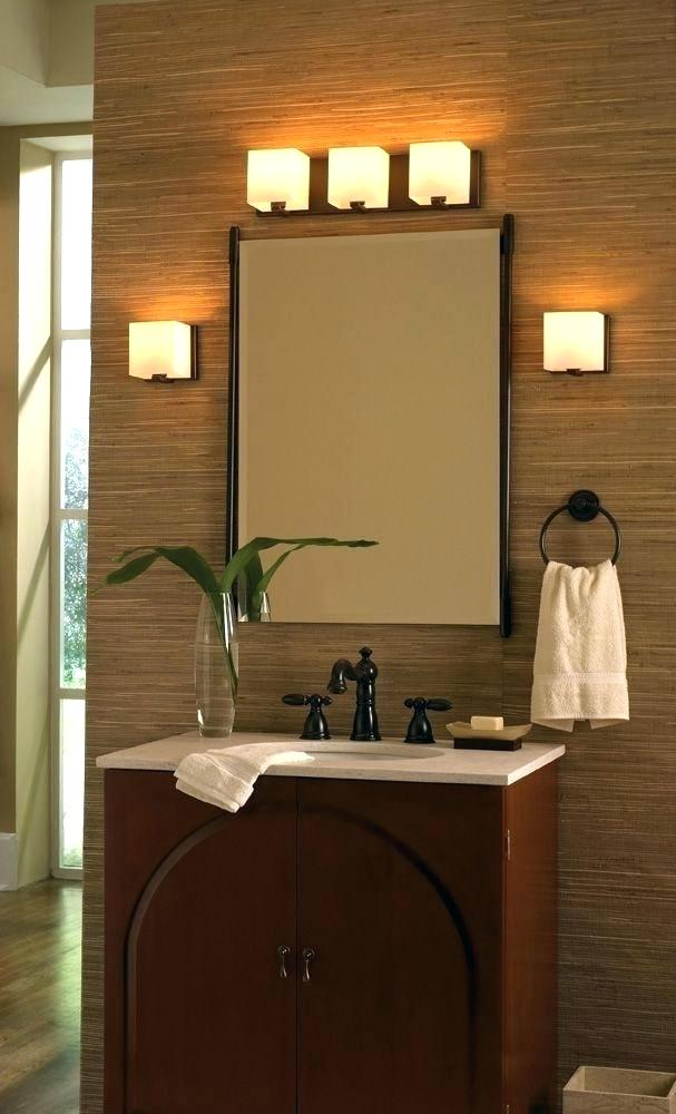 Bathroom Mirrors With Lights Above Bathroom Mirror Light Fixtures