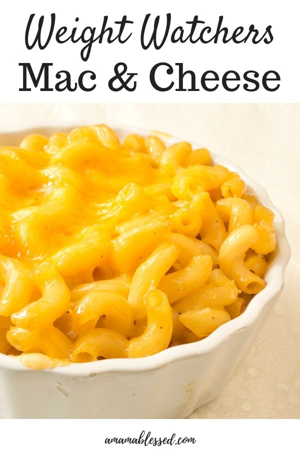 WW Easy Mac and Cheese – WW Recipes