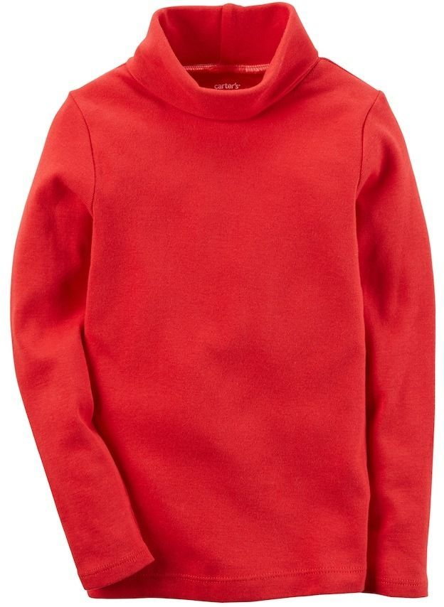 4468ad6d6 Carter s Baby Girl Red Turtleneck Top