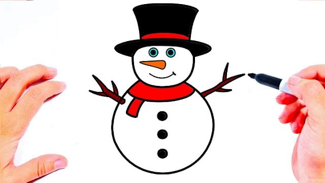 رسم رجل الثلج خطوة بخطوة للمبتدئين Flower Backgrounds Blog Posts Olaf The Snowman