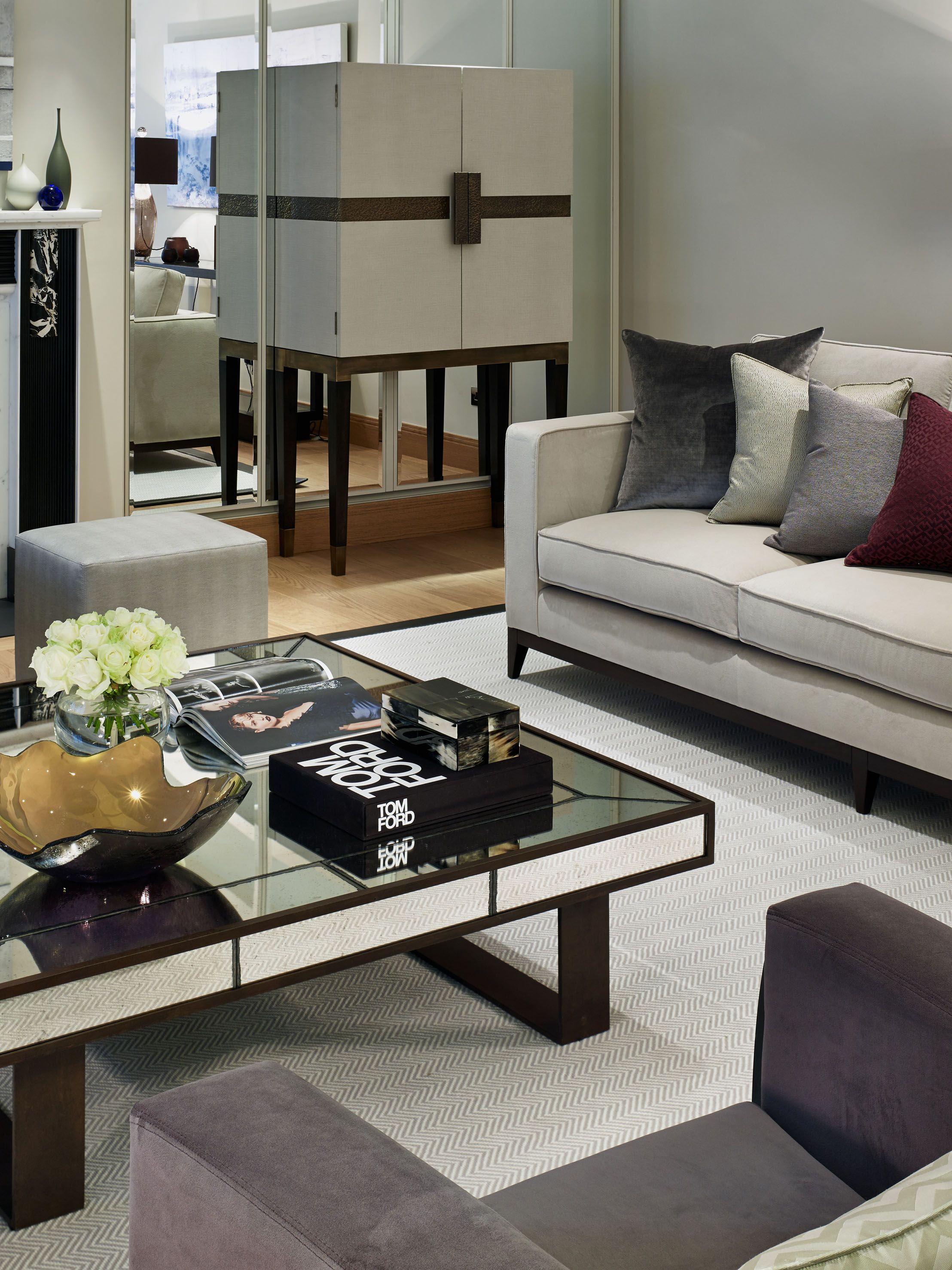Chelsea London Luxury Interior Design Reception Room