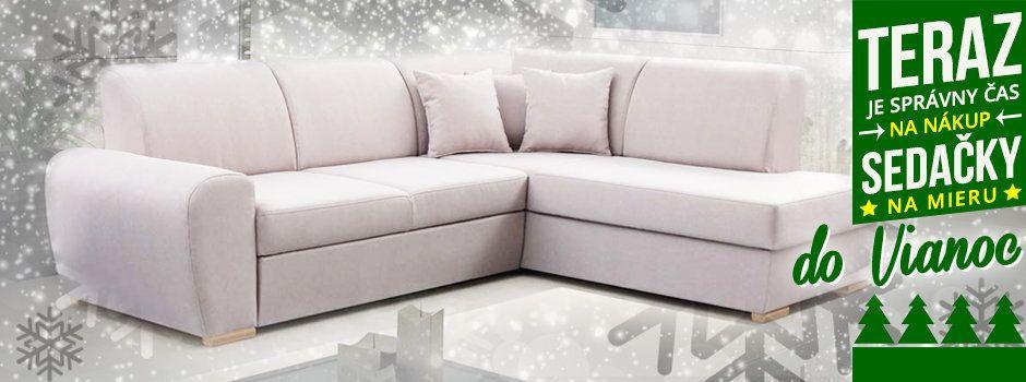 sedačky do Vianoc