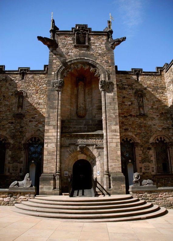 Edinburgh Castle Interior Limited Edition Fine by denisebruchman - Scotland