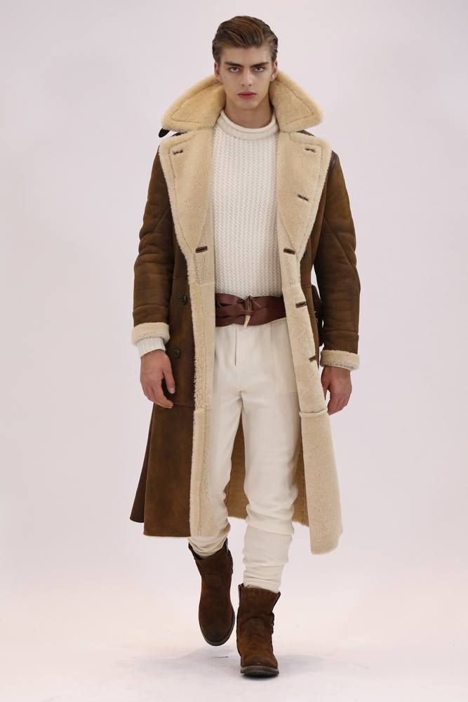 Manteau homme style western