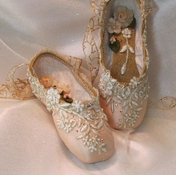 Decorated Pointe Shoes For Sale