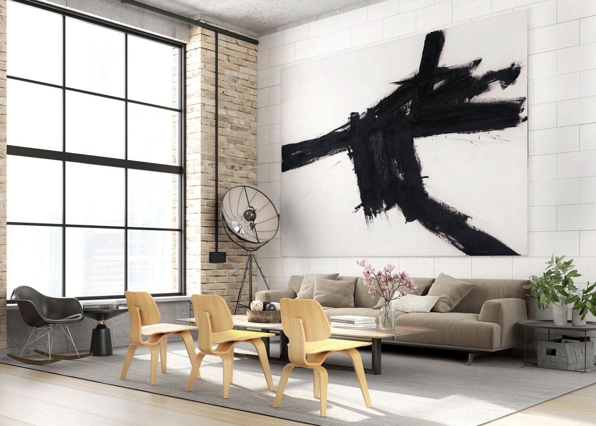 Industrial Style Living Room Design: The Essential Guide | Living ...