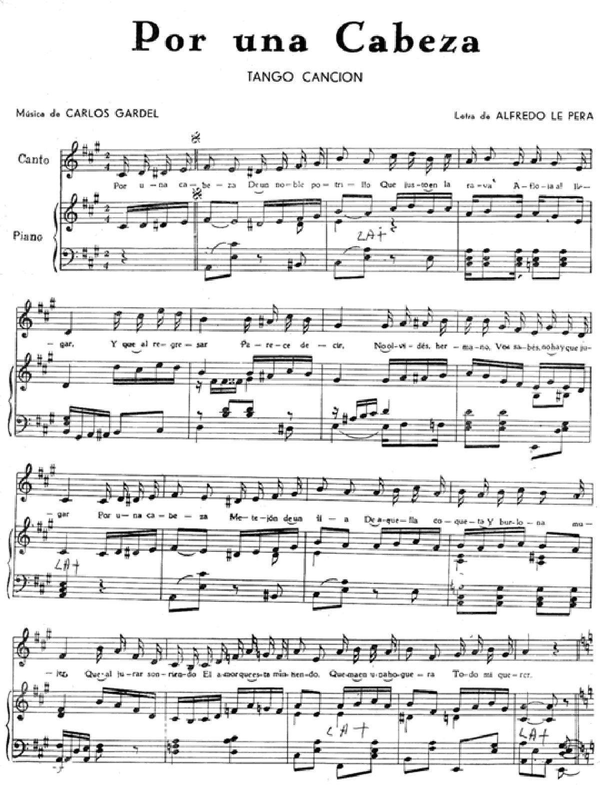 19 Ideas De Partituras Tango Partituras Tango Musica Partituras