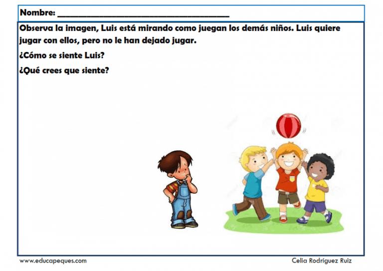 Ejercicios Empatía Fichas Infantil Solución De Conflictos Fichas Educacion Emocional Infantil Actividades Escolares