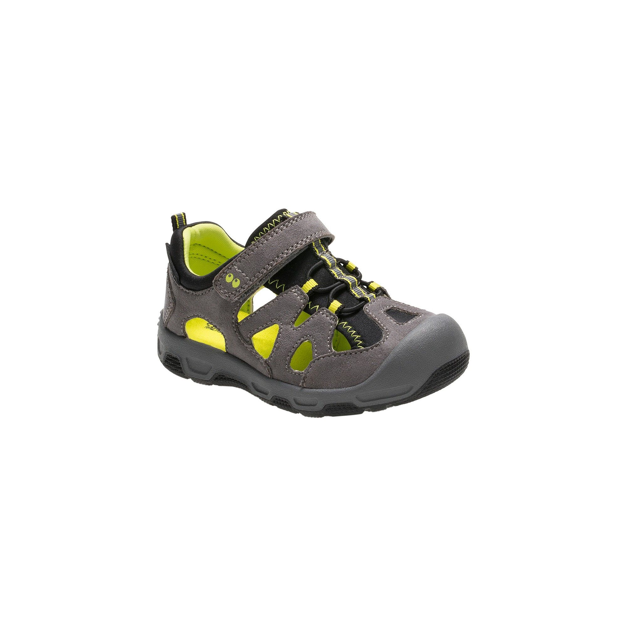 Toddler Boys Surprize by Stride Rite Deonte Hiking Sandals Gray