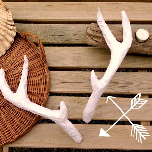 Diy deer antlers Craft Handmade