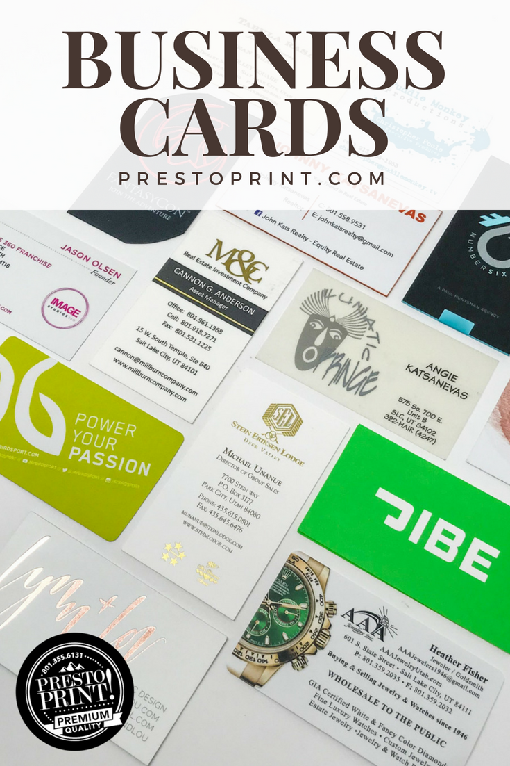 Want To Make Your Business Card Stand Out Get A Custom Designed