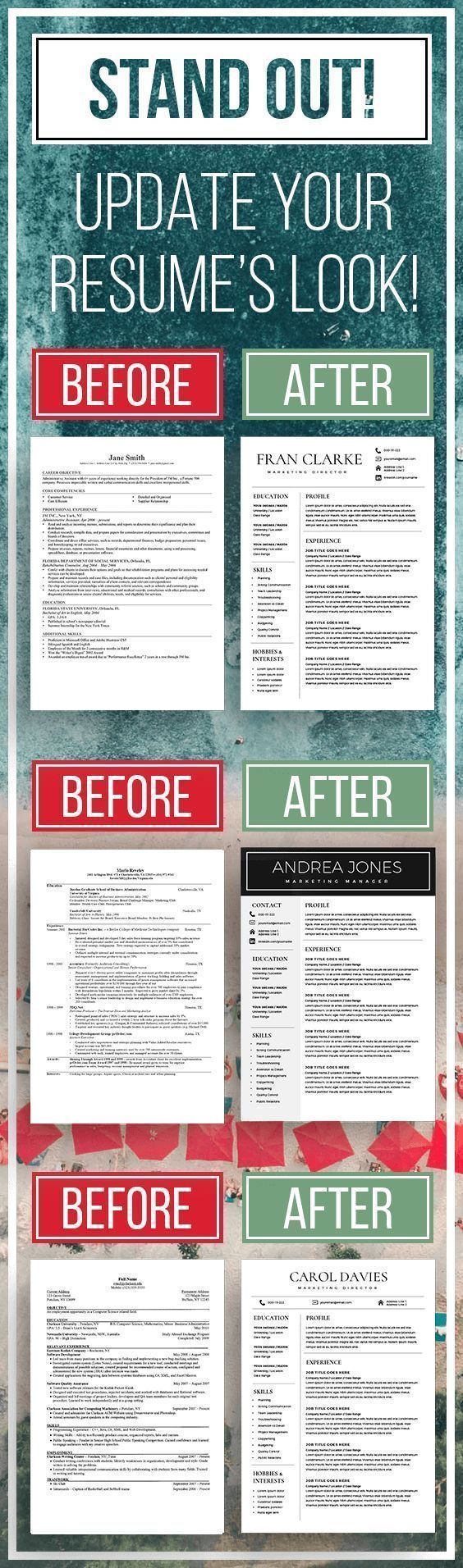 STAND OUT! Update your resume to more elegant and modern ...