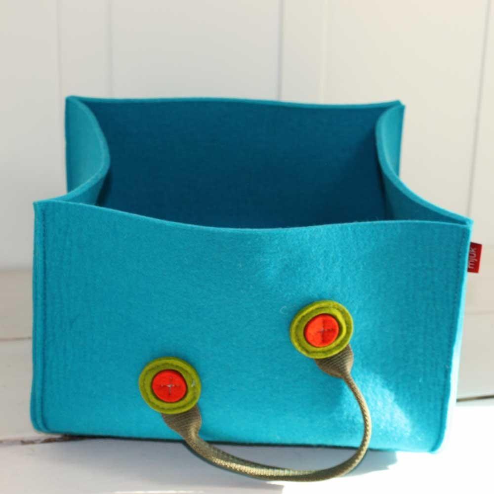 storage felt basket | Organization | Pinterest