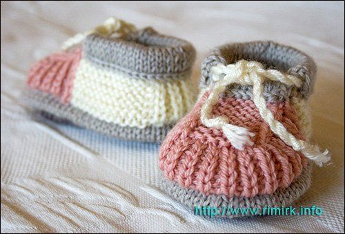 40 + Knit Baby Booties with Pattern   Gilet tricot   Pinterest ... 2233598129b0