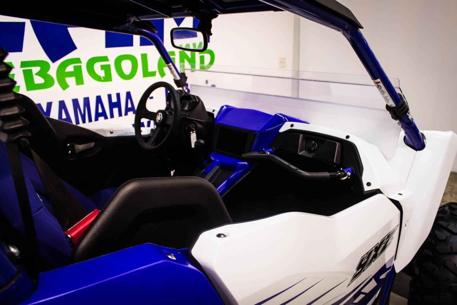 New 2016 Yamaha YXZ1000R - Racing Blue/White w/Sunt ATVs For Sale in Wisconsin. 2016 YAMAHA YXZ1000R - Racing Blue/White w/Sunt, This unit is priced with the accessories listed below and was used as a demo. The vehicle has 1555 miles on it but will still be sold as brand new and will still have the full manufacturer's warranty that will start from the date of purchase. If you have any additional questions regarding this vehicle please feel free to contact us!Installed Accessories:Raceline…