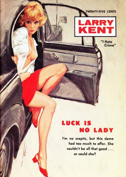Image result for luck is no lady pulp cover