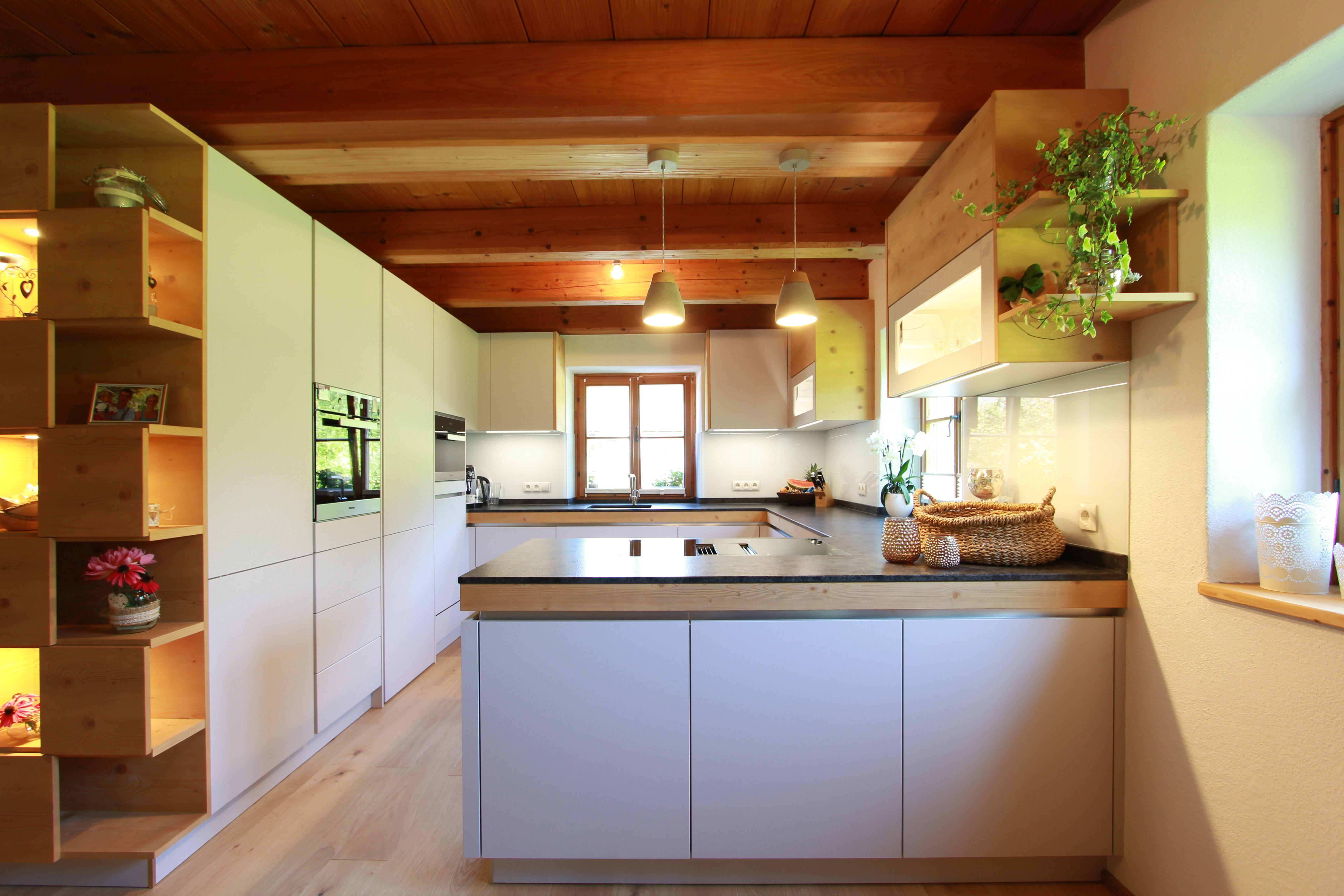 Moderne Kuche Mit Holz Moderne Kuche Innenarchitektur Kuche Kuche