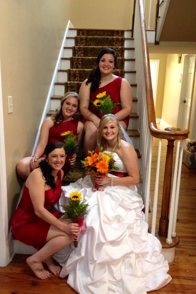 Bridesmaids and Maid of Honor