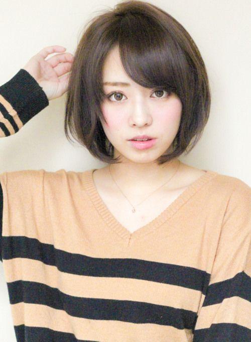 ボブ グロッシーラウンドボブ Afloat Japanの髪型 ヘアスタイル