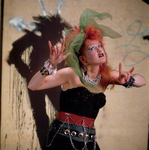 Cyndi lauper  sc 1 st  Pinterest & LLOVE 1980u0027s Cyndi Lauper... It was the beginning of change Freedom ...