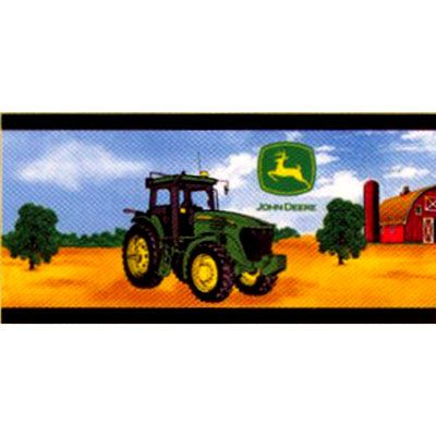John deere wallpaper border dresses rompers wallpaper - Farmall tractor wallpaper border ...
