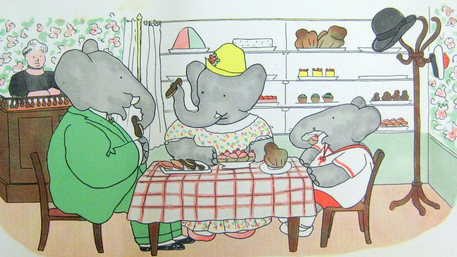 The Story Of Babar />Babar /& Celeste/< by Jean De Brunhoff  Card Great Britain