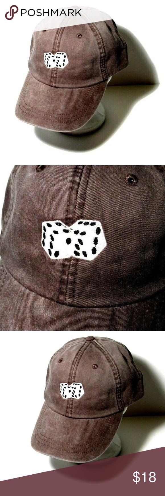 Dice Hat Gambling Vacation Casino Baseball Cap Baseball Cap Baseball Caps Mens Baseball