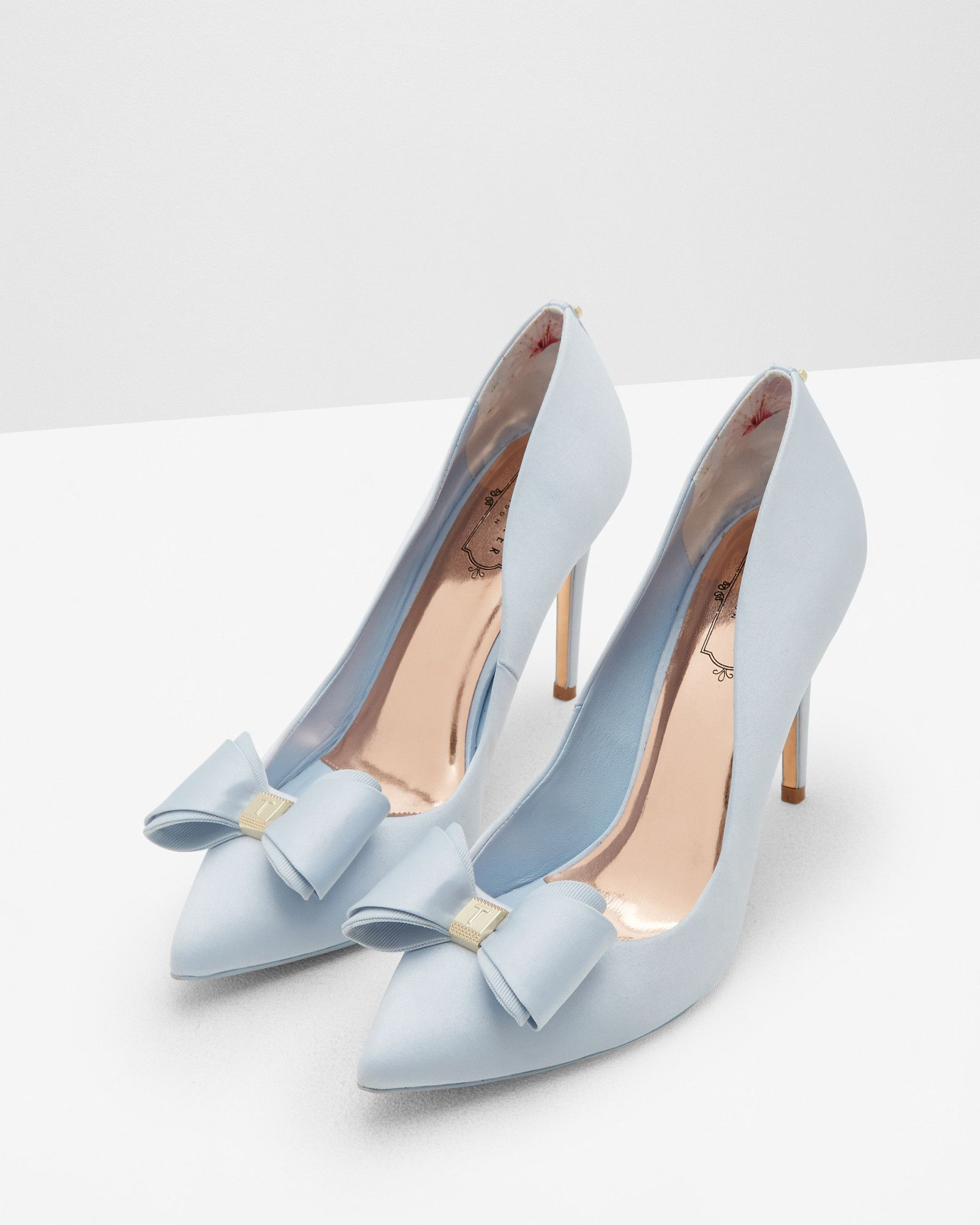 Bow detail courts Light Blue | Shoes | Ted Baker | Light