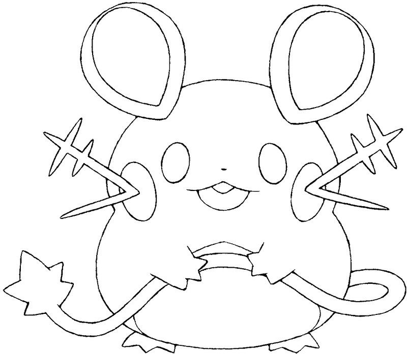 Coloring Pages Pokemon Dedenne Drawings Pokemon Pokemon Coloring Pages Pokemon Coloring Pokemon Drawings