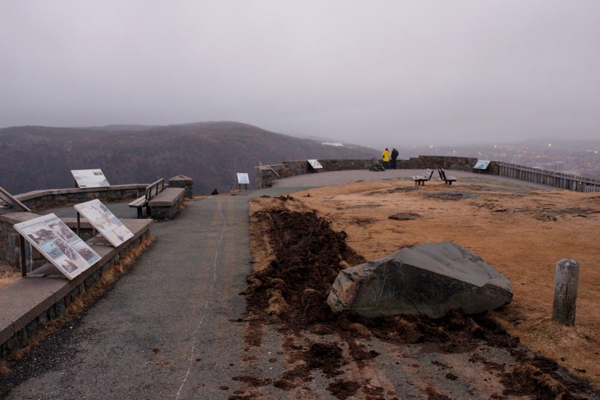 VOCMCOMWoman Ejected From Tumbling Vehicle On Signal Hill - Car signal hill