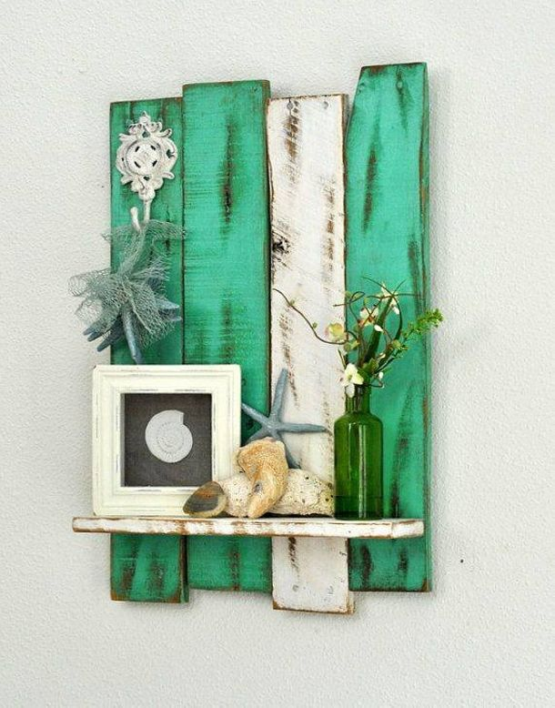 Recycled pallet wood decor crafts pallet project for Craft ideas using pallets