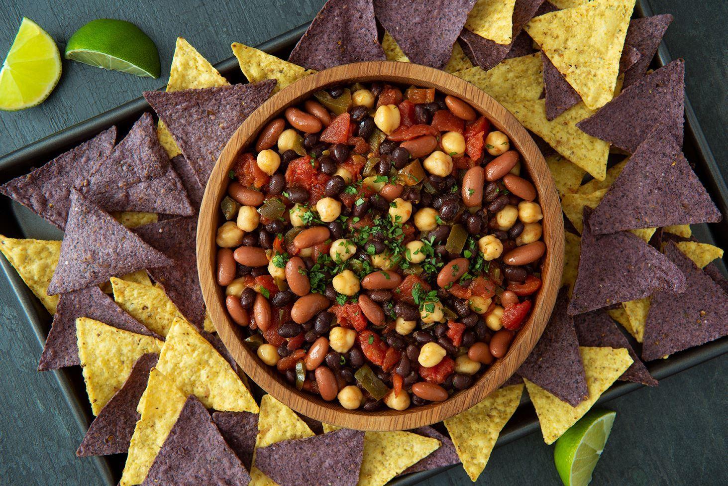 Three Bean Salsa Recipes Goya Foods Recipe In 2020 Bean Salsa Recipe Goya Foods Bean Recipes