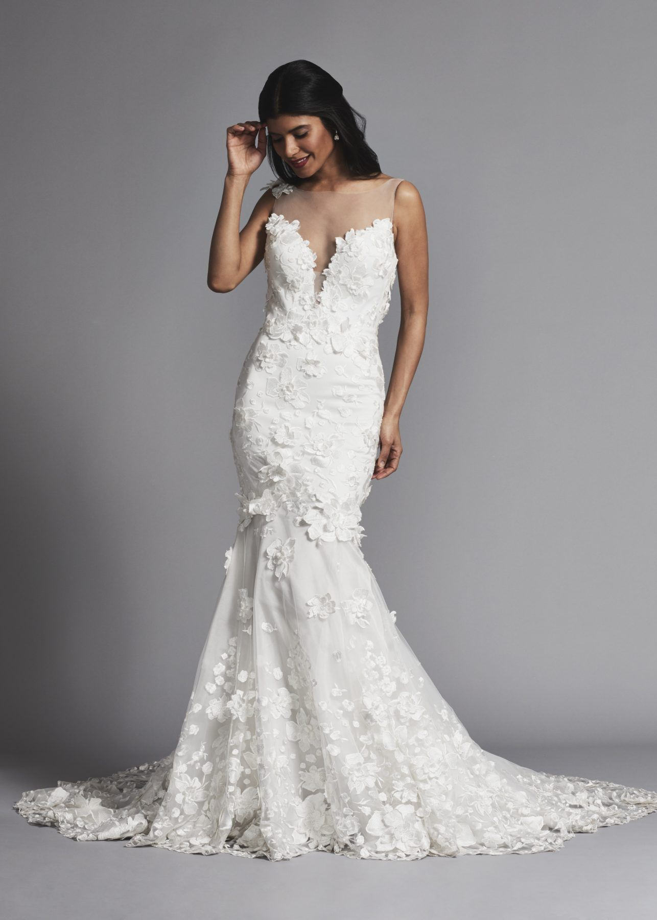 19+ Fit and flare wedding dress ideas
