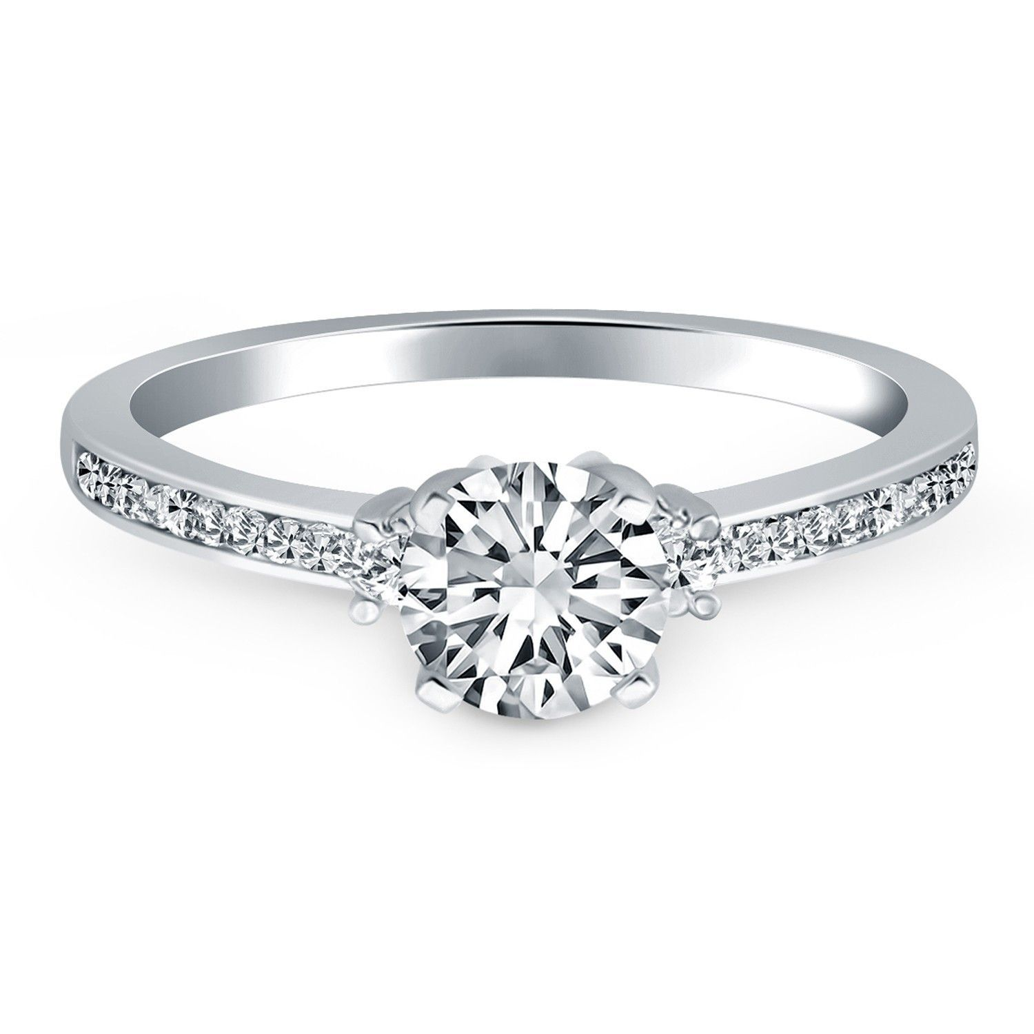accent diamond engagement di rings floyd lady online buy ring delight green