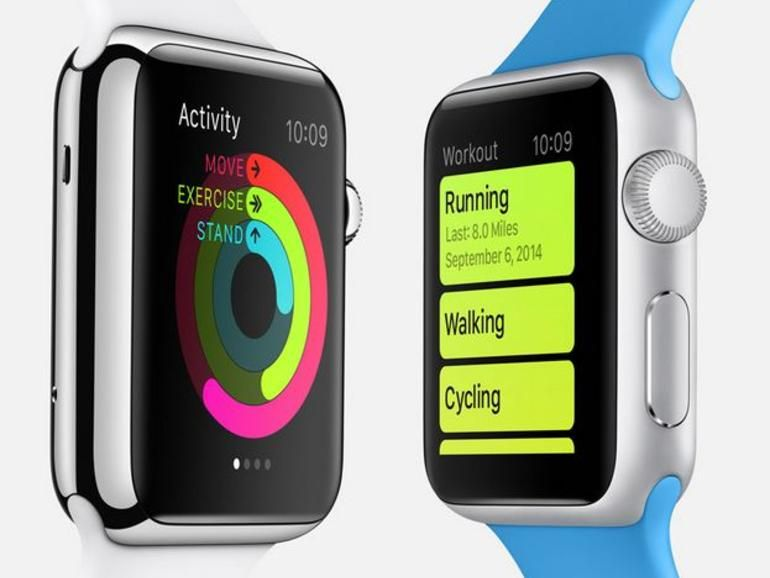 The Fitness Apps Tucked Inside The Apple Watch Pictures Apple